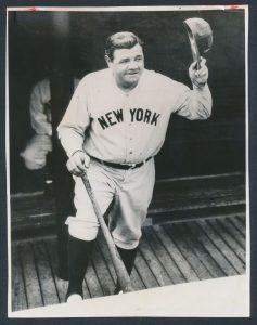 Babe Ruth retires 1934
