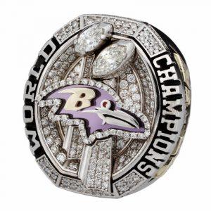 Baltimore Ravens 2012 Super Bowl ring