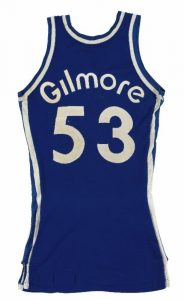 Game worn Kentucky Colonels jersey Artis Gilmore
