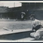 1939 Lou Gehrig streak ends photograph