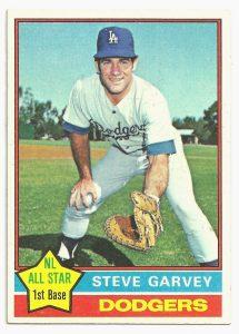 1976 topps steve garvey
