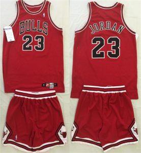 Game-worn Michael Jordan Bulls uniform