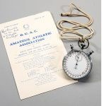 1954 stopwatch Roger Bannister 4 minute mile