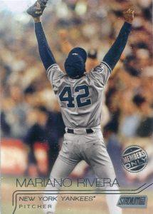 Mariano Rivera Members Only 2015 Topps Stadium Club parallel