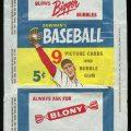 Bowman 1955 Baseball 5-Cent Wrapper