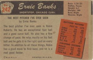 Bowman 1955 Banks back