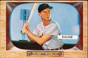 Al Kaline 1955 Bowman