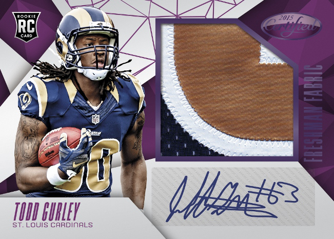 Todd Gurley rookie card Panini Certified 2015