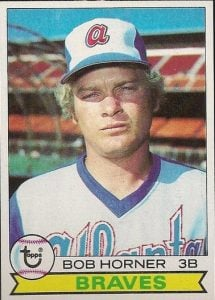 Bob Horner 1979 Topps