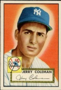 Jerry Coleman 1952 Topps
