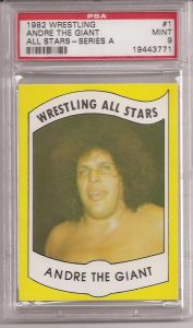 Andre the Giant 1982 Wrestling All-Stars Series A