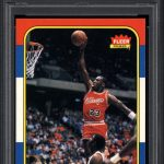 Michael Jordan PSA 9 rookie card