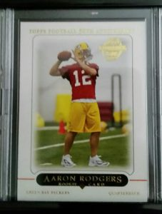 Aaron Rodgers rookie card