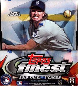 Topps 2015 Finest Baseball hobby box