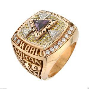 George Mikan 2002 Lakers NBA Championship ring