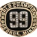 George Mikan Minneapolis Lakers championship 99 ring