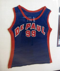 George Mikan 99 DePaul childs jersey