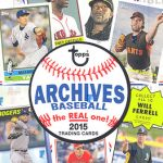 Topps 2015 Archives box