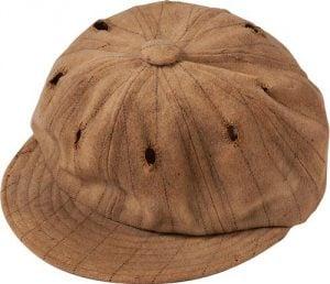Game-used Harry Hooper cap