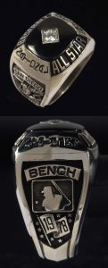 All-Star Game Ring Johnny Bench