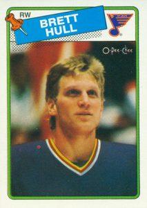 1988-89-O-Pee-Chee-Hockey-Brett-Hull-RC