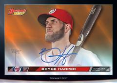 2015 Bowmans Best Hi Def Heritage Bryce Harper auto