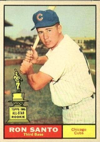 Ron Santo 1961 Topps