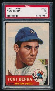 Yogi Berra 1953 Topps