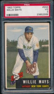 Willie Mays 1953 Topps