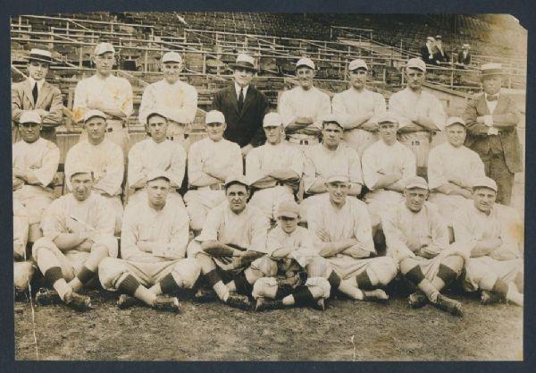 Boston Red Sox team photo 1918