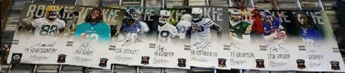 NFL Rookies 2015 signed photos