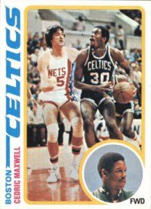 Cedric Maxwell rookie card