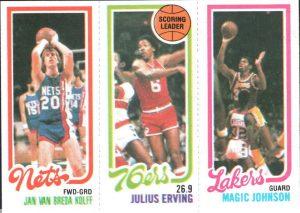Magic Johnson rookie card 1980-81