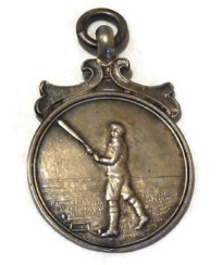 Dull finish to an antique sterling silver medallion