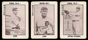 """1913 WG6 """"Tom Barker"""" Game Cards"""