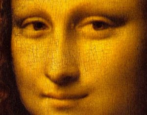 Even the Mona Lisa has crazing