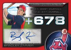 2015 Bowman Draft Dividends Bradley Zimmer