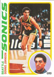Dennis Johnson 1978-79 Topps