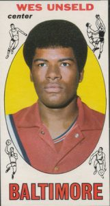 Wes Unseld 1969-70 Topps