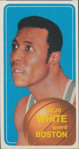 JoJo White 1970-71 Topps rookie card