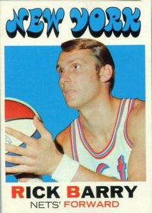 1971-72 Topps Rick Barry