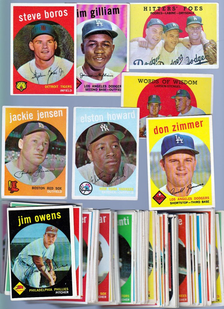 Topps 1959 cards