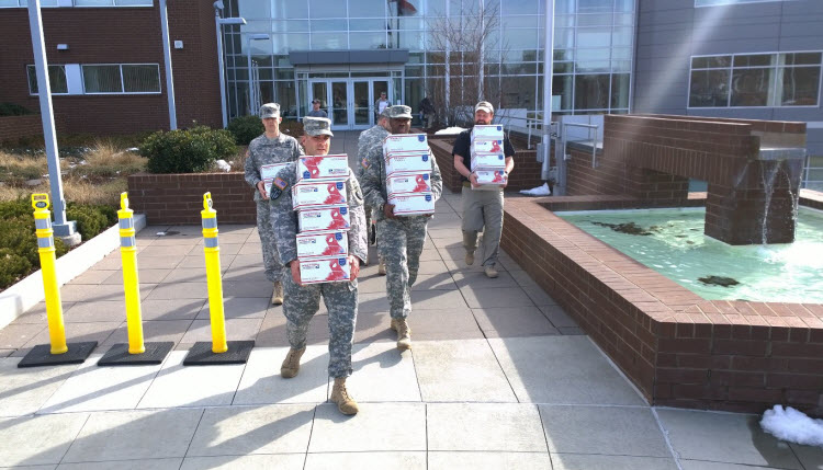 MMIA care packages for troops.