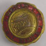 1920 World Series press pin Brooklyn Dodgers Robins