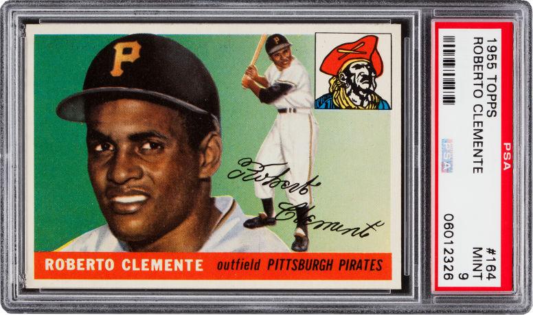 Roberto Clemente 1955 Topps PSA 8