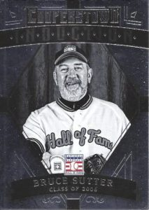 2015 Panini Cooperstown Bruce Sutter Induction