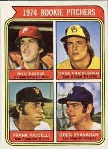 Dave Freisleben 1974 Topps San Diego variation