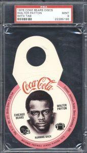 Walter Payton 1976 Coca-cola