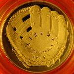 U.S. Mint Baseball coins Hall of Fame commemorative proof