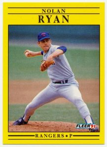 1991 Fleer Nolan Ryan